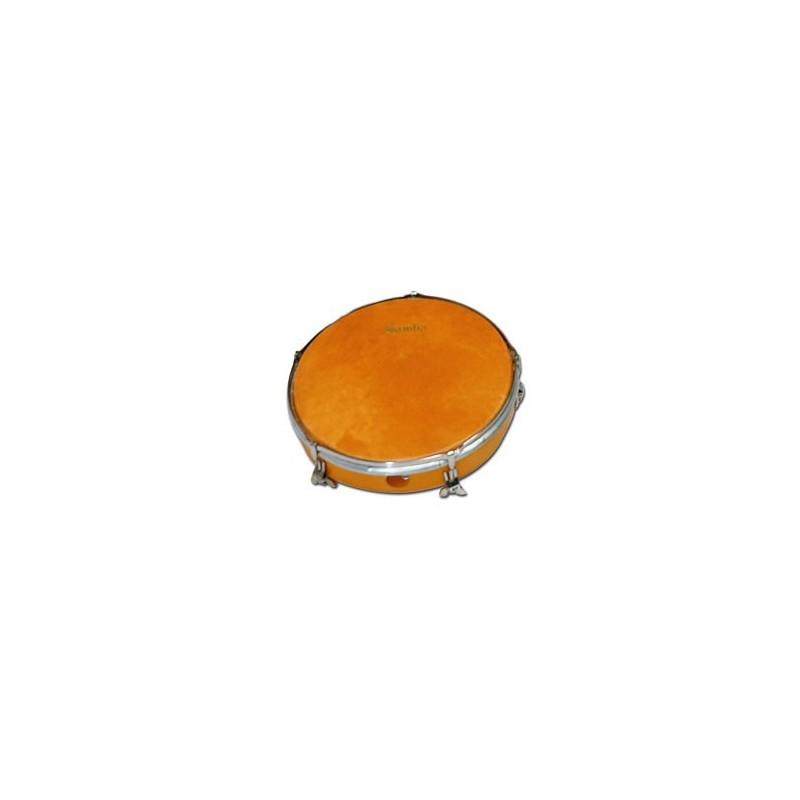 "Ø35.6 cm/14"" x 31 cm Marching wood drum , polyester head. COLOUR"