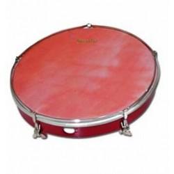"Ø35.6 cm/14"" x 31 cm Marching wood drum , calfskin head. COLOUR"