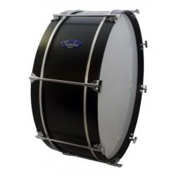 "Ø38.1 cm/15"" x 32 cm Marching wood drum , calfskin head. COLOUR"