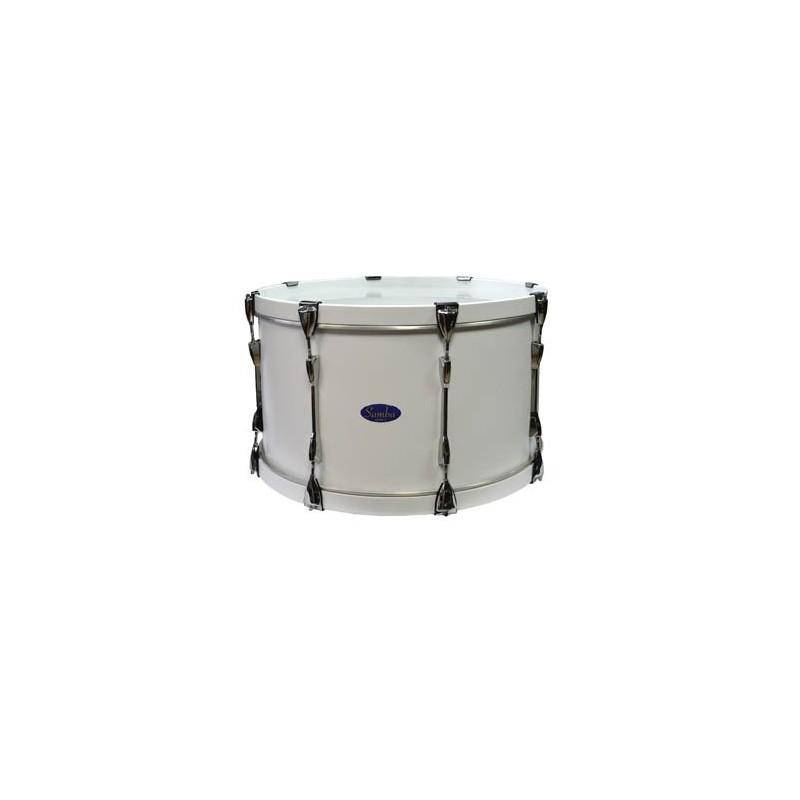 """Ø35.6 cm/14"""" x 15.5 cm FORCE drum, aluminium. COLOUR"""