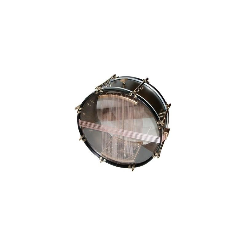 """Aluminium drum, Ø38.1cm/15"""" x 26 cm height, COLOUR"""