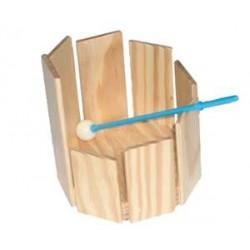 Woodblock holder for drums (drums 28 cm)