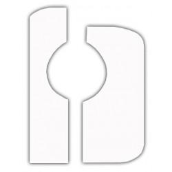 Tambourine Ø17cm double jingle with brass jingles
