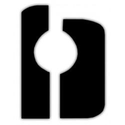 Tambourine Ø30cm double brass jingles