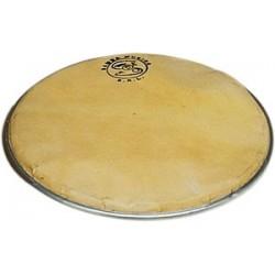 Asturian Ø 27 cm tambourine, double tin-plate jingles,