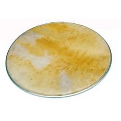 Asturian tambourine, double tin-plate jingles, Ø 32 cm