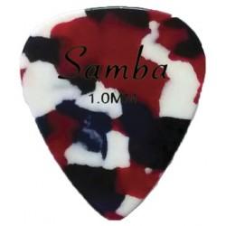 Tunable tambourine calfskin head, single jingle, Ø20 cm